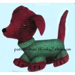 wonkyzebra_t1040_dog_knitted_lamb_and_knit_dachshund_b1465