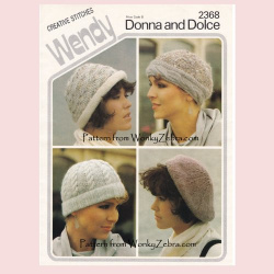 wonkyzebra_z1082_a_four_knitted_hats_or_berets_vintage_knit_wendy_2368