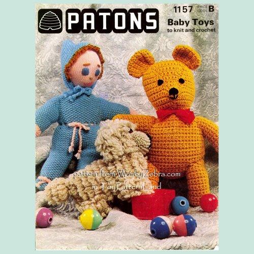 Simply Adorable Teddy Bear Baby Cocoons!! • Oombawka Design Crochet   500x500