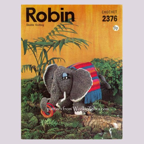 Crochet Elephant Softie and More Free Patterns For 2020 | 500x500